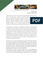 Significado Social Da Vitória de Dilma W Pomar