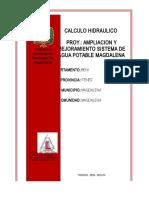 Calculo Hidraulico Magdalena