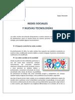 Redes Sociales y Nuevas Tecnologias