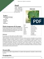 Alternaria Solani - Wikipedia, La Enciclopedia Libre
