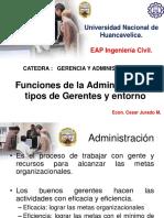 111funciones de La Administración, Tipos de Gerentes