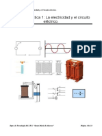 UD1 La Electricidad y El Circuito Electrico