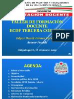Diapositivas 2 Capacitacion Ecdf