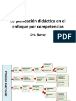 La Planeación Didáctica en El Enfoque Por Competencias