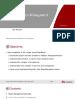 5G RAN2.0 Beam Management