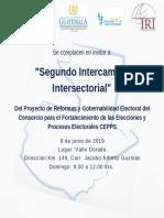 Segundo Modulo Intersectorial Zacapa
