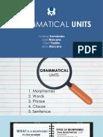 Grammatical Units