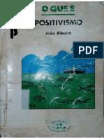 O Que é Positivismo- João Ribeiro