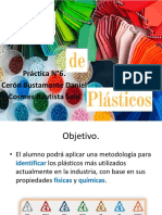 Identificación de plásticos.