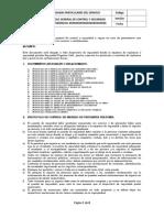 Protocolo General de Control y Seguridad