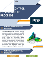 Clase 10. Control Estadistico de Procesos