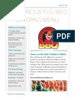Full Catering Menu - PDF