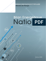 Bilan Energétique National 2017 Edition 2018