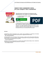 Barron x27 s Sat Subject Test Chemistry With CD