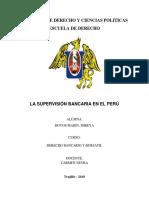 La Supervisión Bancaria en El Perú