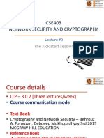 1 Introduction Network Security Cryptography