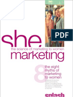 The 8 Myths of Marketing to Women