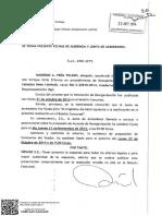 Escrito y Resolución 23-10-2014