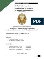 7mo Informe de Analisis Quimico