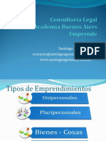Consultoría Legal Buenos Aires Emprende SAG
