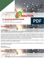 Company Profile QB Solution