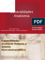 1. Generalidades Anatomía TO