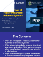 24 FAA Approval of Highly Integrated Avionic Systems