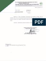Surat Permohonan Pemasangan Astinet Di Puskesmas Buyat