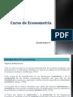 Econometria 1