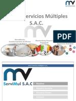 Brochure M & v Servimul SAC