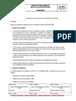 Mrci100v1 Instructivo Para Cambio de Sidewalls Clam Bucyrus Rh340