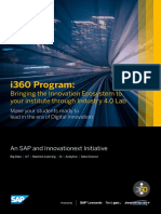 SAP Leonardo i360 Brochure Novel
