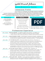 chj teacher-resume-1 pager-turquoise-web