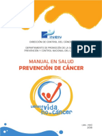 Manual de Prevencion de Cancer