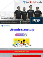 L1 Atomic Structure