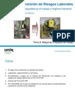 Tema 8 Maquinas y Equipos de Trabajo