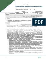 Modelo Acta de Sesion Concejo Modificación Del Rof
