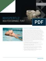 Whisperflo Pump