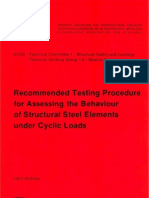 No045-ECCS Publication-Recommended Testing Procedure for Assessing the Behaviour of Steel Elements Under Cyclic Loads