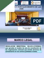 Constitucion y Fortalecimiento de Jass