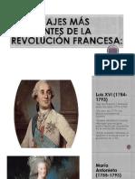 PERSONAJES MAS IMPORTANTES DE LA REVOLUCIÓN FRANCESA