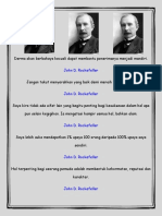 Kebijaksanaan John d. Rockefeller