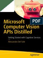 Microsoft Computer Vision Apis Distilled