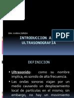 2.-Introduccion a La Ultrasonografia
