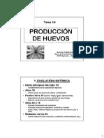 Tema 10. Produccion de Huevos