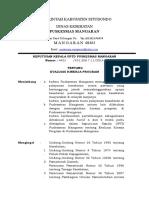 10.553 Sk Prosedur Evaluasi Kinerja Program