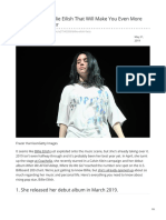 Seventeen.com-10 Facts About Billie Eilish That Will Make You Even More Obsessed With Her