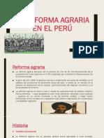 La Reforma Agraria en El Perú