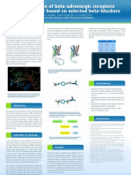 Investigation of beta-adrenergic receptors binding pocket based on selected beta-blockers