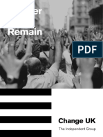Change UK Charter for Remain